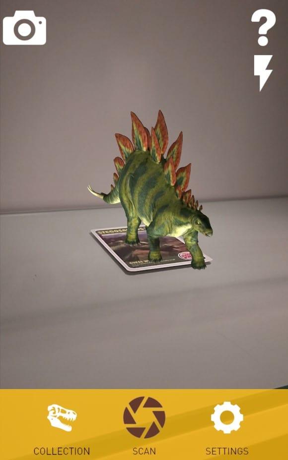 Bk Dinos Augmented reality - AR View 1