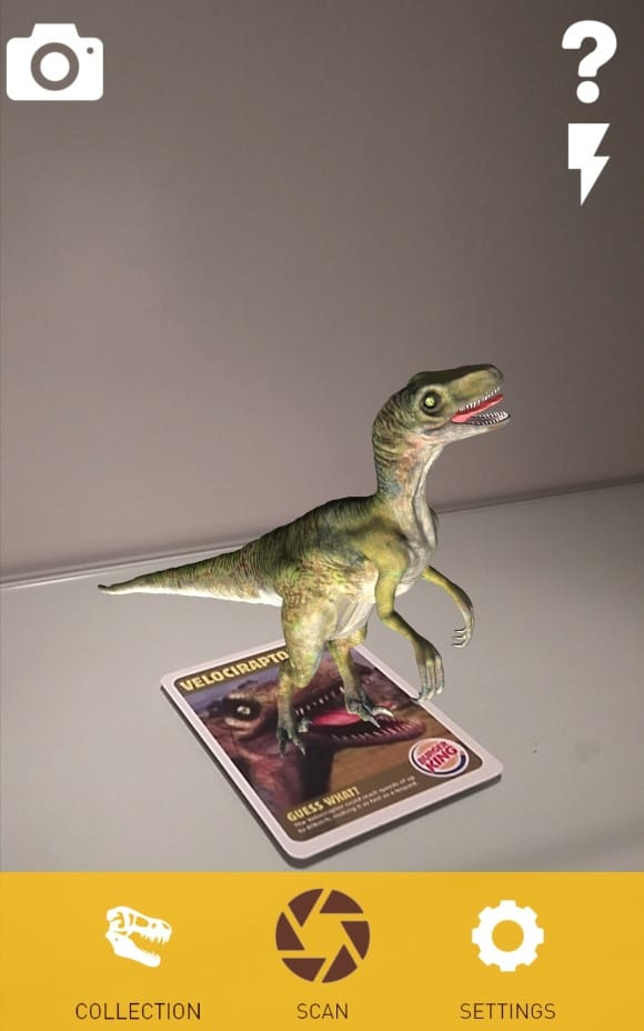 Bk Dinos Augmented reality - AR View 2