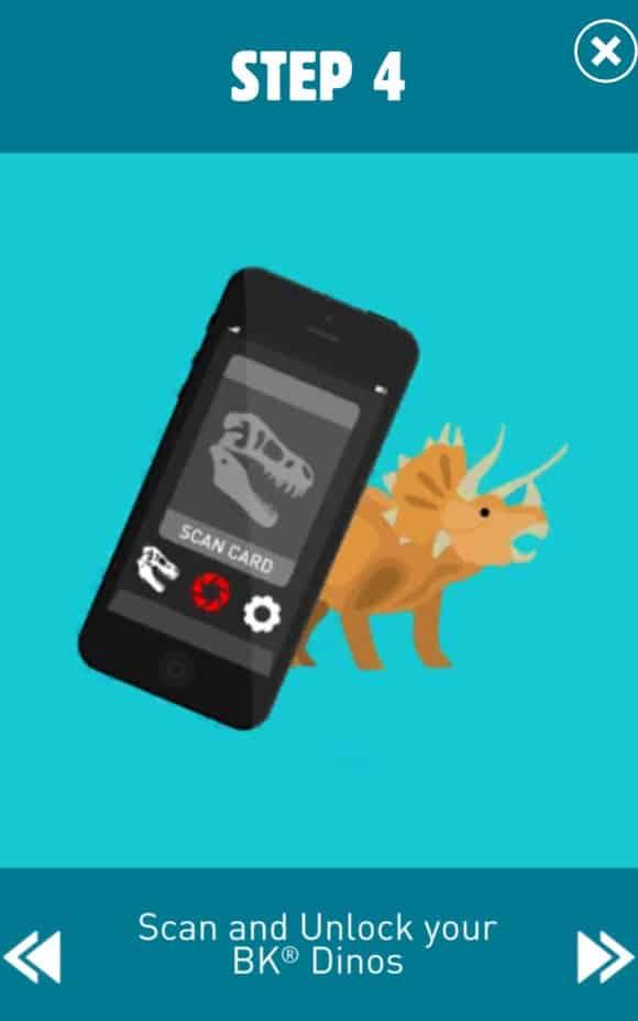 Bk Dinos Augmented reality - Tutorial 4