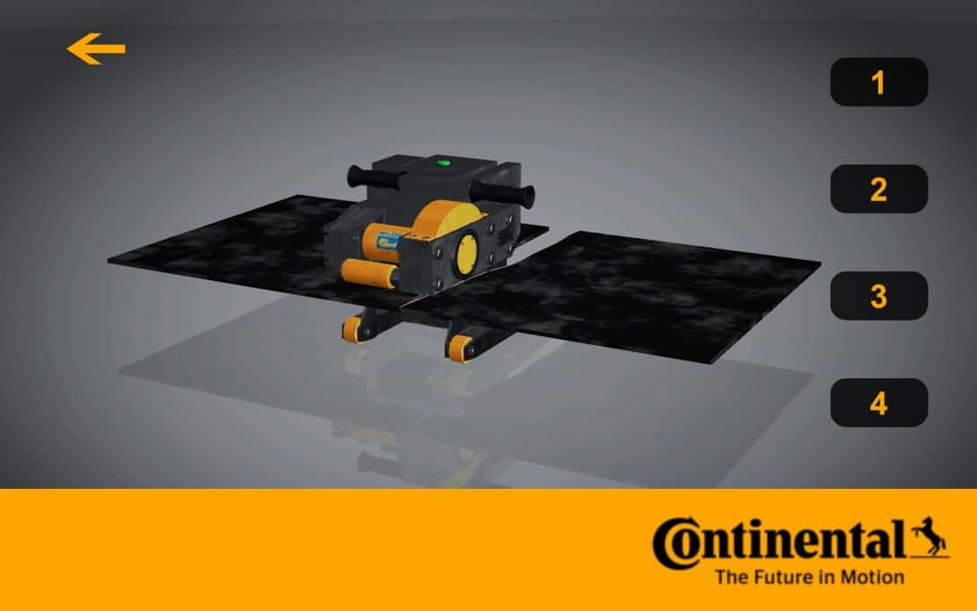 Continental Tyres Augmented Reality - 4