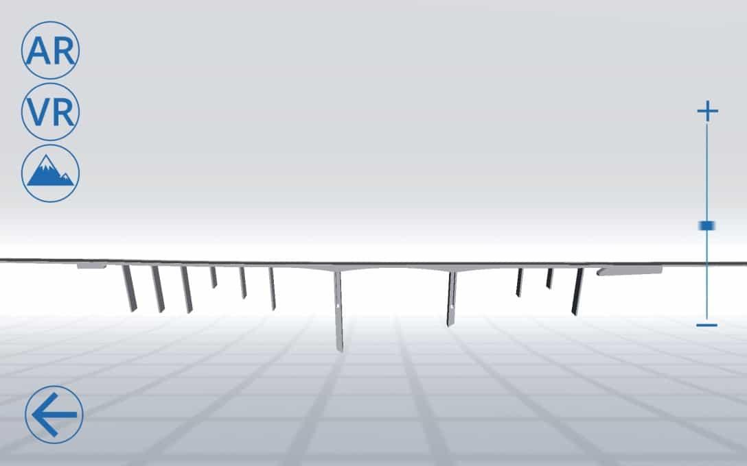 Sanral Augmented reality bridges - Bridge 1 model