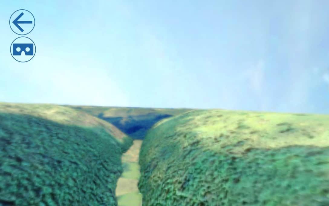 Sanral Augmented reality bridges - Bridge 1 virtual reality