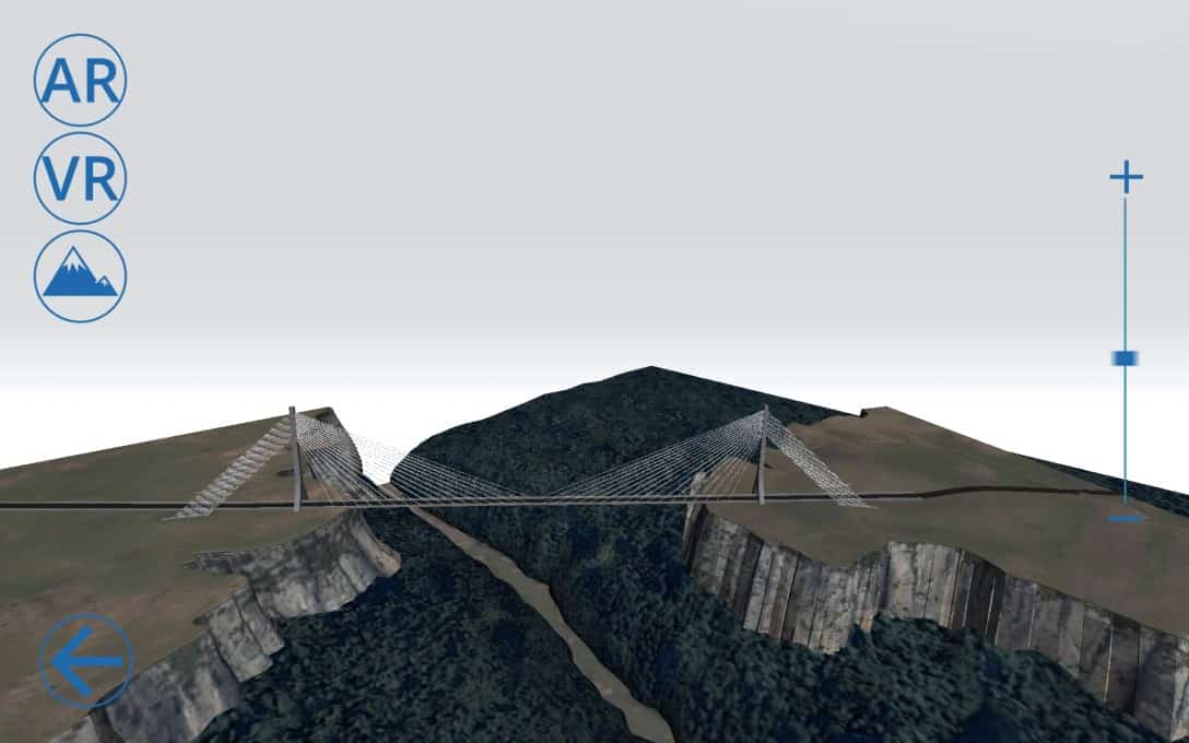 Sanral Augmented reality bridges - Bridge 2 Model Menu 2