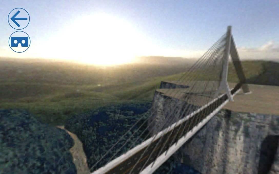 Sanral Augmented reality bridges - Bridge 2 virtual reality