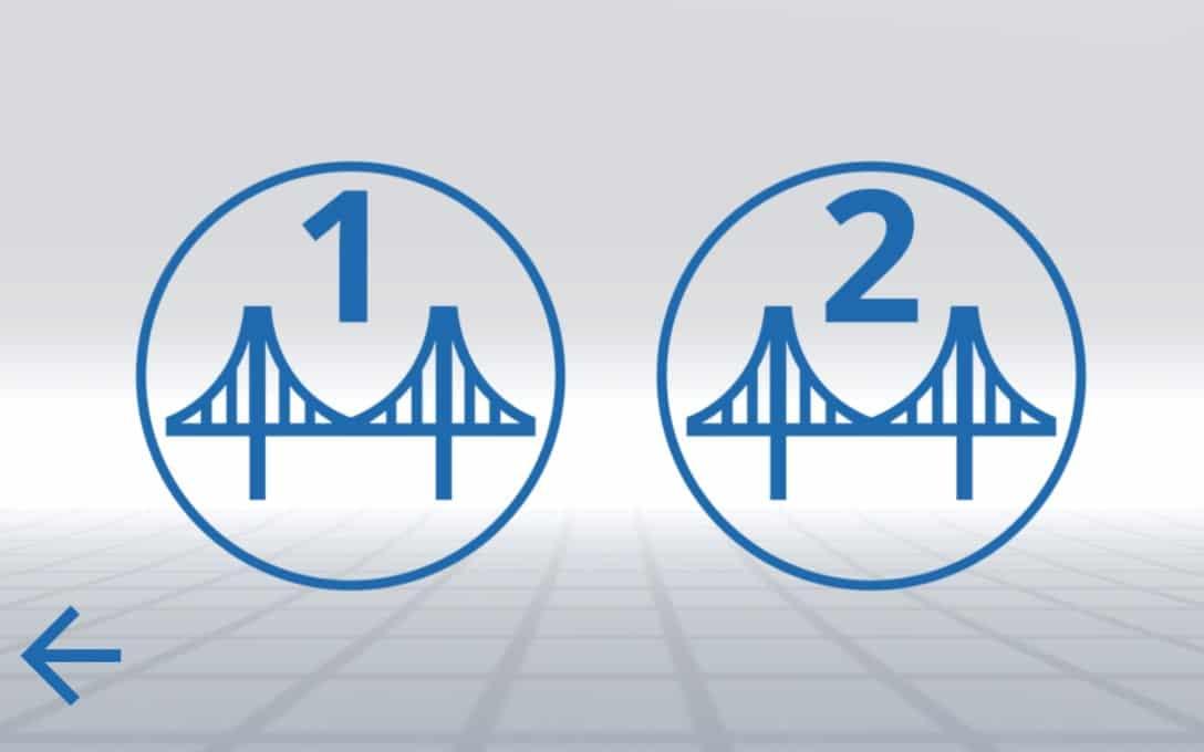 Sanral Augmented reality bridges - Main Menu