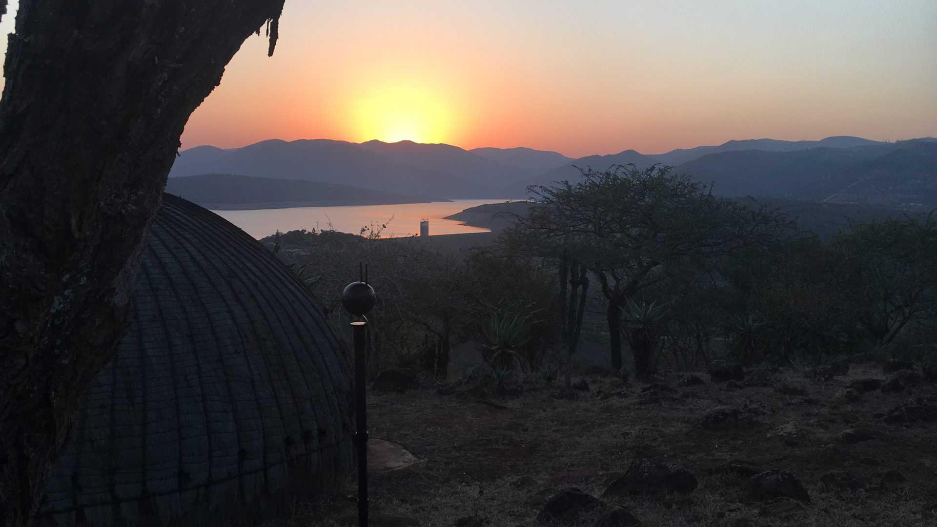 Shakaland Sunset