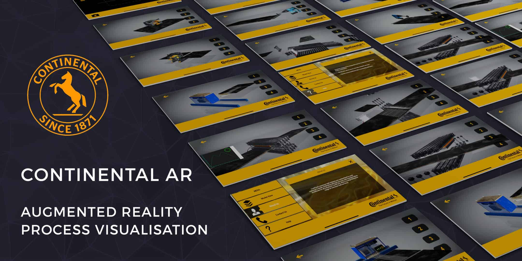 Read more about the article CONTINENTAL AR<br>Continental used an augmented reality application to allow clients to visualise the machines and the process responsible for its highly advanced belt splicing process.