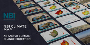 Read more about the article NATIONAL BUSINESS INITIATIVE (NBI)<br> The NBI Climate mApp uses augmented and virtual reality to tell the story of possible climate change scenarios in South Africa and their consequences for biodiversity, agriculture and human wellbeing.