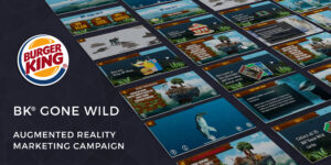 Read more about the article BK GONE WILD<br>BK Gone Wild used augmented reality to bring 25 collectable endangered animal cards to life. Kids could interact with 3D models, games, quizzes and learn more about each animal.