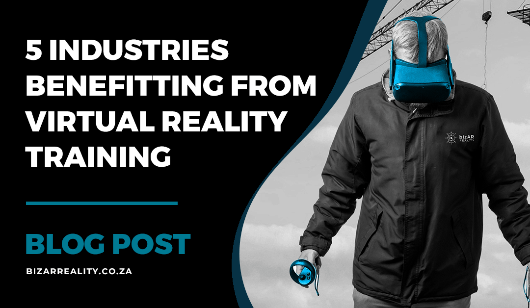 Read more about the article 5 Industries Benefiting from Virtual Reality Training Systems