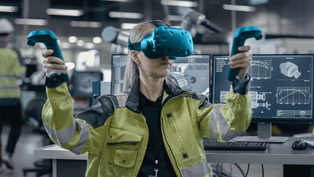 VR Training manufacturing industry