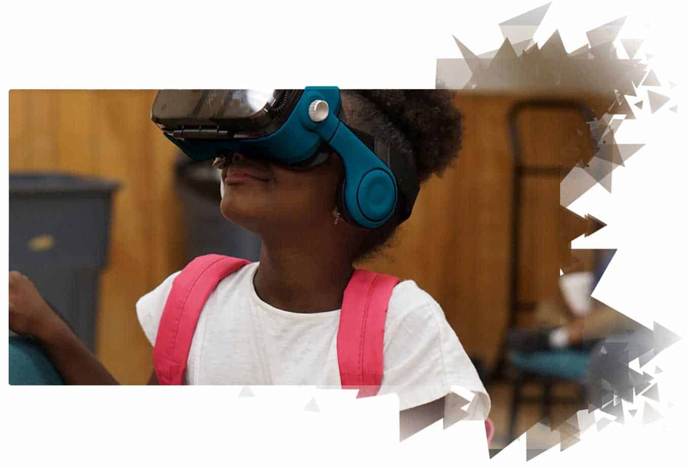 Virtual reality education image